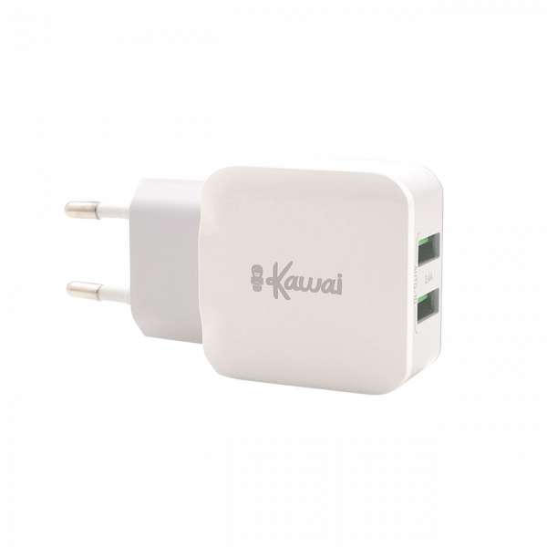ikawai-travel-charger-adapter-fast-charge-2-usb-side-left-main